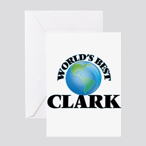 World's Best Clark Greeting Cards